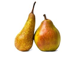 Two pears by luckypixel