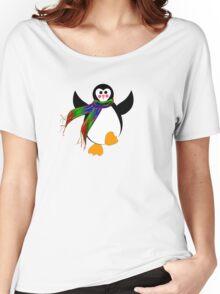 Winter Penguin Women's Relaxed Fit T-Shirt