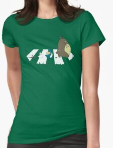 Neighbor's Road Version 2 Womens Fitted T-Shirt