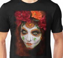 dia des los muertos- sugar skulls 3 Unisex T-Shirt