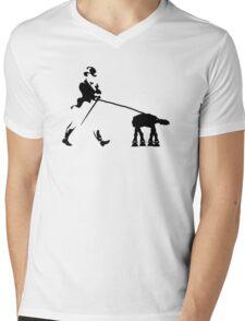 Walker(ing) the Walker Mens V-Neck T-Shirt