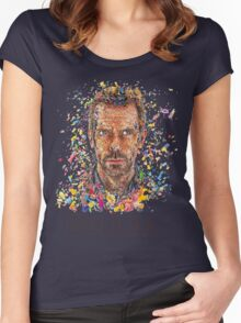 House MD - Pills  Women's Fitted Scoop T-Shirt