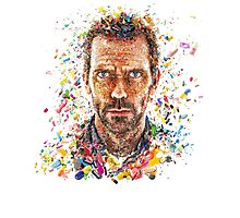 House MD Pills - No Logo Photographic Print