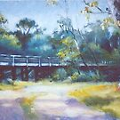 Old bridge over the Goulburn by Mrswillow