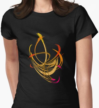 Les Flammables Womens Fitted T-Shirt