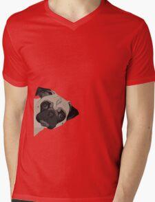 Poppin' In Mens V-Neck T-Shirt