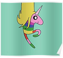 Adventure Time - Lady Rainicorn in Mint Poster