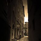 Cobblestones and Alleyways by Keiran Lusk