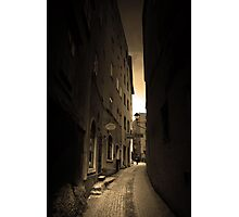 Cobblestones and Alleyways Photographic Print