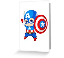 Funny Captain A. Greeting Card