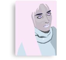 pastel pop-art love Canvas Print