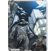 Batman, Robin and Gotham iPad Case/Skin