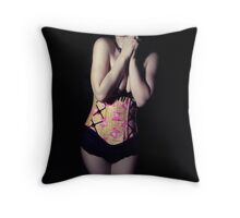 Charlotte II Throw Pillow