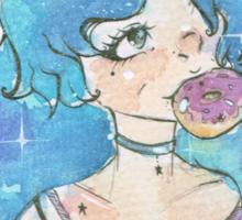 Hev's Art ~ Maiden of Doughnut Sticker