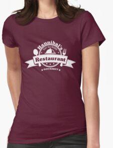 Hannibal Restaurant Womens Fitted T-Shirt