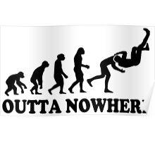 Evolution Outta Nowhere Poster