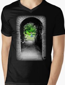 Through to Wonderland Mens V-Neck T-Shirt