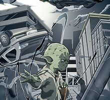 Yoda Force by chrisgooding