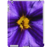 Backlit flower iPad Case/Skin