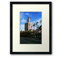 Torre de Oro Framed Print