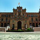 Plaza de Espana by Michael Gold