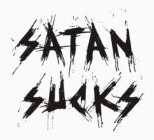 Satan Sucks (Black) One Piece - Short Sleeve