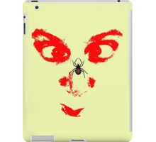 spider in the face iPad Case/Skin