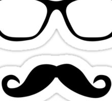 Hipster Before it Was Cool Sticker