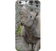 Black Rhinoceros. iPhone Case/Skin