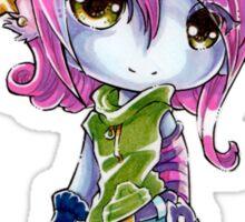 Chibi Riot Girl Tristana Sticker