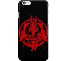 Samael (Red) iPhone Case/Skin