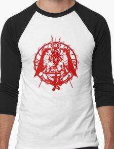 Samael (Red) Men's Baseball ¾ T-Shirt