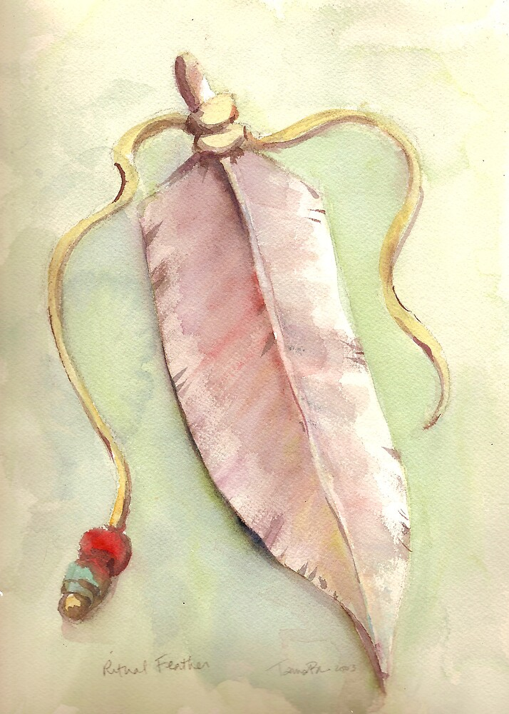 Ritual Feather by Tama Blough