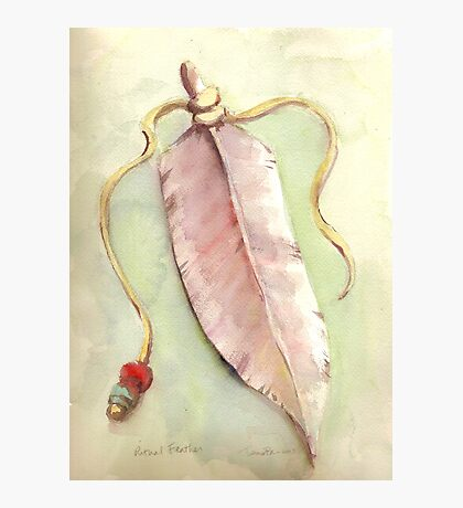 Ritual Feather Photographic Print