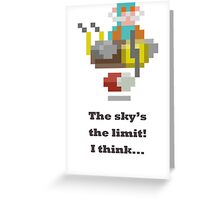 Gyrocopter - The sky is the limit Greeting Card