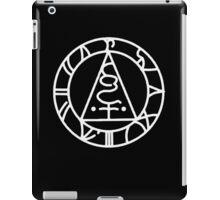 The Seal of Metatron (White) iPad Case/Skin