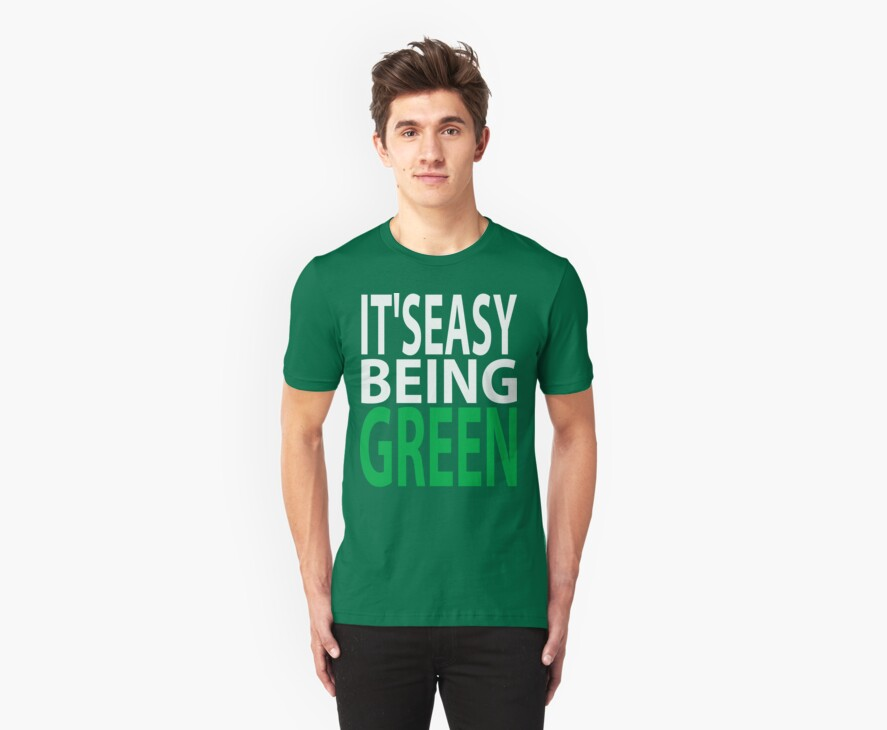 it's easy being green by asyrum