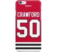 Chicago Blackhawks Corey Crawford Jersey Back Phone Case iPhone Case/Skin