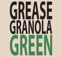 grease granola GREEN! by asyrum