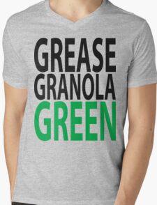 grease granola GREEN! Mens V-Neck T-Shirt