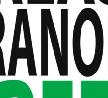grease granola GREEN! Sticker