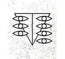 Seele Eyes (Black) Photographic Print