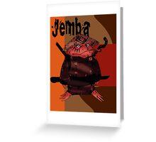 Jemba 2  Greeting Card