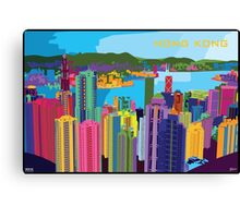 Pop Art of Hong Kong Canvas Print