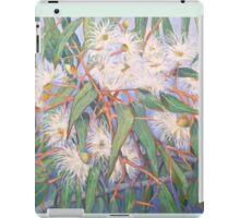 White gum blossom outside our window 2012Ⓒ. Oil on canvas iPad Case/Skin