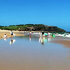 Long Reef Beach, NSW, Australia by GeorgeOne