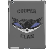Cooper Clan distressed (Sly Cooper) iPad Case/Skin