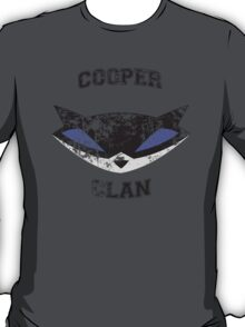 Cooper Clan distressed (Sly Cooper) T-Shirt