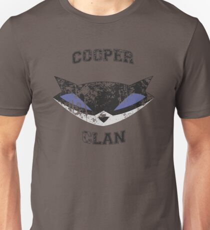 Cooper Clan distressed (Sly Cooper) Unisex T-Shirt