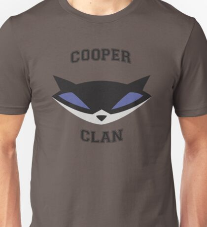 Cooper Clan (Sly Cooper) Unisex T-Shirt